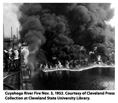 Lake Cuyahoga Fire of 1969