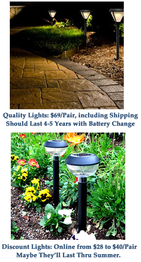 quality fixtures last longer, fewer replacements mean less waste