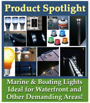 Solar Marine Lights, Solar Boat Lights