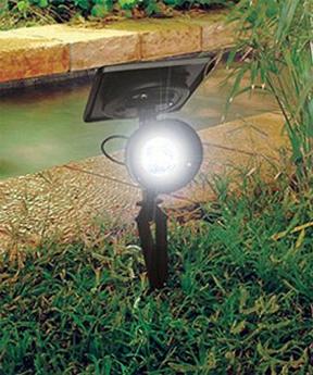 Progressive Solar Spotlight Outdoor Solar lights