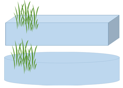 volume calculator for rectangular or oval ponds