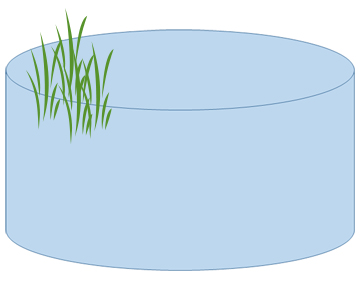 calculator for round ponds