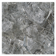smashed glass - panes or decorative items