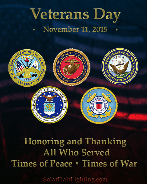 Veterans Day November 11 2015